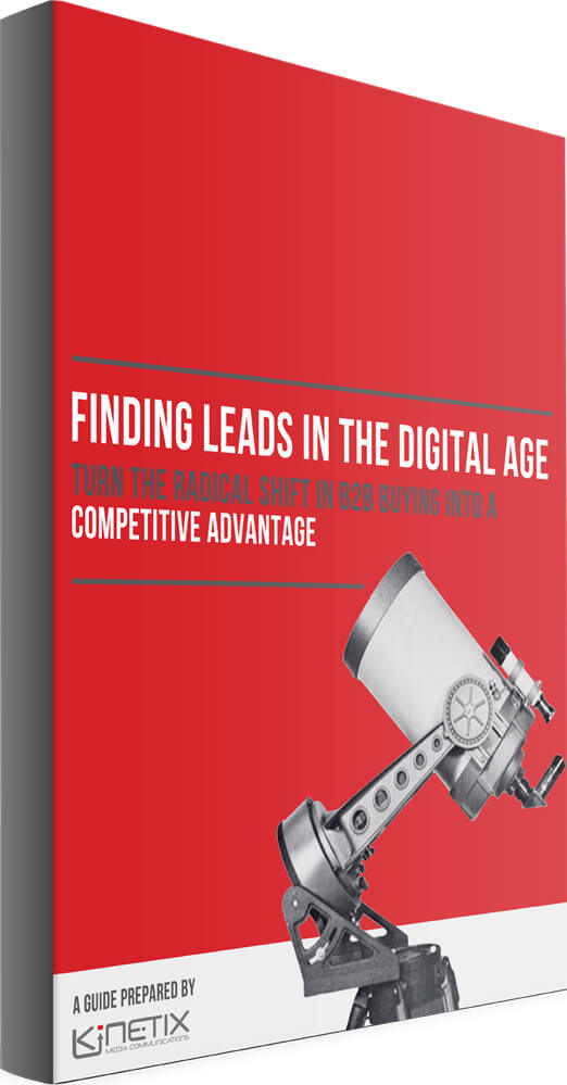 Finding Leads in the Digital Age cover